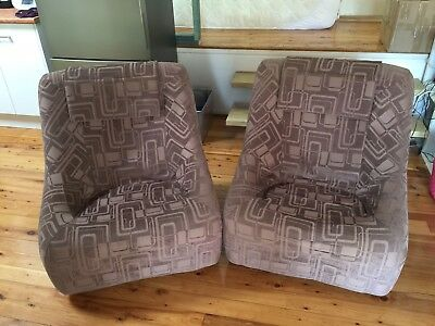 Vintage Grant Featherston Numero IV Lounge Chairs