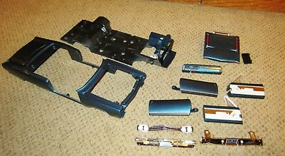 ERTL Auto World 1:18 1969 BLUE Plymouth Hemi GTX Convertible Body Chassis Packag