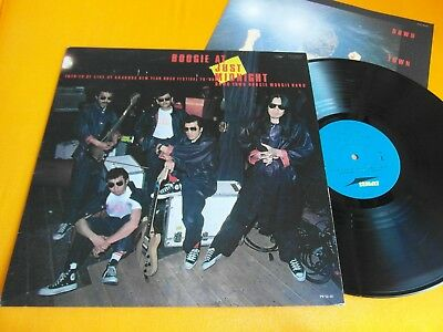 Lp  Down Town Boogie Woogie Band - Boogie At Just Midnight(1980 Japan-Pr)Ex