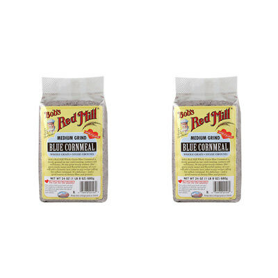 2X Bob's Red Mill Cornmeal Gluten Wheat Free Whole Grain Flour Mixes Food Lunch