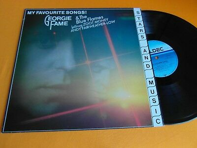 Lp   Georgie Fame  & The Blue Flames  -  My Favourite Songs  (Orig.1983)  Ex