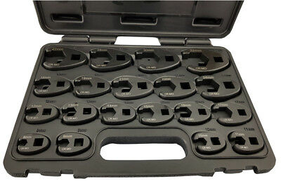 "3/8"" & 1/2"" Crowsfoot Spanner / Wrench Set 19 Piece Britool Hallmark, 8-32Mm"