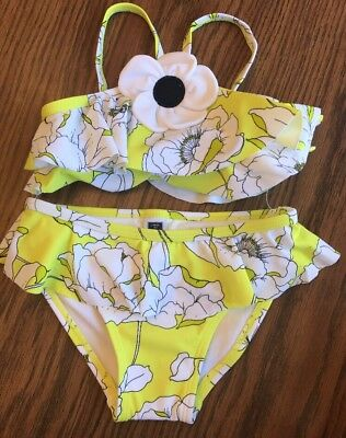 Janie And Jack 2 Piece Floral Swimsuit 2T