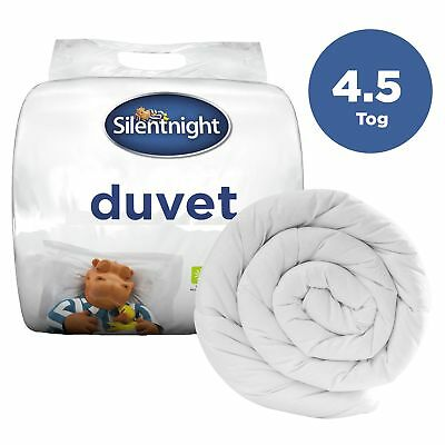 Silentnight NQP 4.5 Tog Hollowfibre Duvet / Quilt - Single Double King or SK