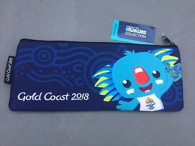 Bnwt! 2018 Gold Coast Commonwealth Games Borobi Pencil Case- So Cute!! Sold Out!
