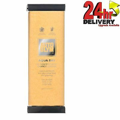 Autoglym Aqua Dry Hi-Tech Synthetic Chamois Leather Car Valeting Drying Cloth
