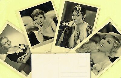 ROSS VERLAG - 1930s Film Star Postcards produced in Germany #8851 to #8998