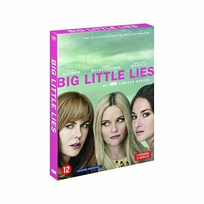 Blu-ray - Big Little Lies S1 - Warner Brothers - Reese Witherspoon, Nicole Kidma