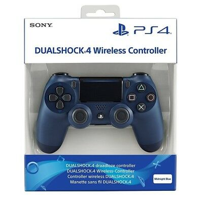 Mando Dualshock 4 Azul Oscuro Ps4 Midnight Blue Controller Gamepad Playstation 4