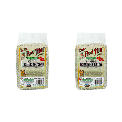 2X Bob's Red Mill Organic Whole Grain Buckwheat Cereal Breakfast Food Snacks