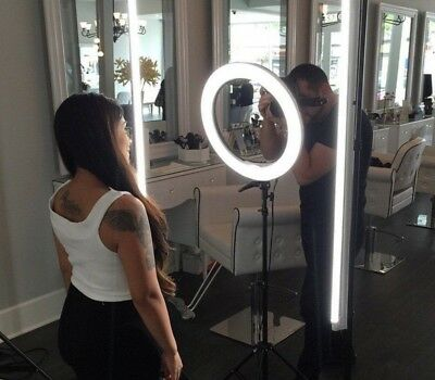 Ring Light and Camera iPhone Holder Stand