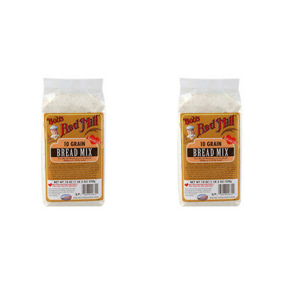 2X Bob's Red Mill 10 Grain Bread Mix Baking Flour Mixes Food Groceries Lunch