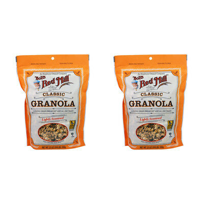 2X Bob's Red Mill Granola Natural Whole Grain No Fat Cereal Breakfast Lunch