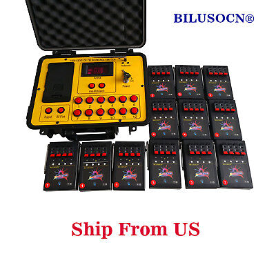 Free ship 48 cues 500M distance program fireworks firing system wireless control