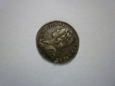 George II Coin Silver 2 Maundy 1732