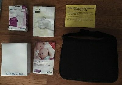 New(Damaged Box & Pamphlets) Philips AVENT Double Electric Breast Pump SCF334/16