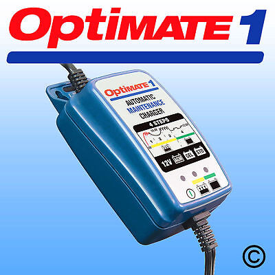 Optimate 1 + Motorcycle 4 Step 12V Motorbike Battery Charger Optimiser
