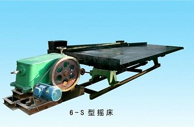 New Gold Panning Machine 6-S Shaking Table Mineral Separation Shipped by Sea