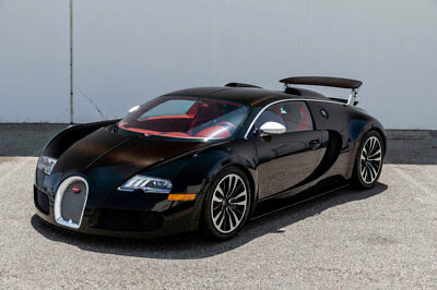 Bugatti Veyron Sang Noir 2010 Bugatti Veyron Sang Noir Exposed Carbon Fiber Special Ownership Rare1 of 1