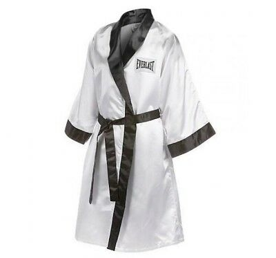 Everlast Boxing Professional Fight Robe Boxer White / Black