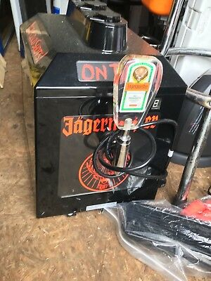 jagermeister machine only used a few months, 1year old, perf condition.