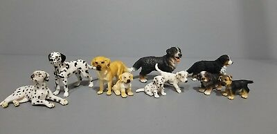 Schleich Animals lot of 8 Dogs