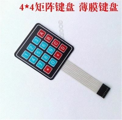 5Pcs 4 X 4 Matrix Array 16 Key Membrane Switch Keypad Keyboard For Arduino Avr h