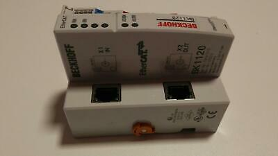 "Beckhoff BK1120 EtherCAT ""Economy plus"" Bus Coupler for up to 64 Bus Terminals"