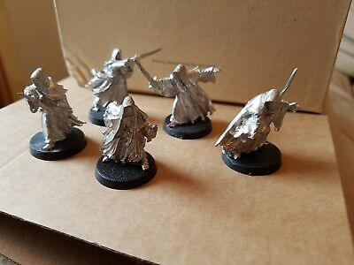 Warhammer LOTR - Lord Of The Rings - Set of 5 different Ringwraiths
