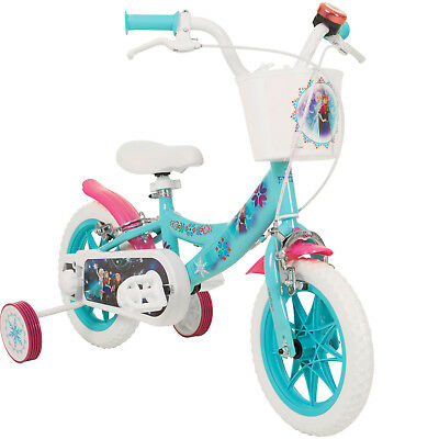 12 Inch Disney Frozen Kids Bike Children Snow Queen Girls from 3 Years Bicycle