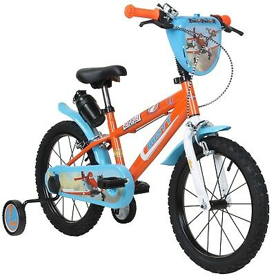 Children's Bicycle 16 Inches Disney Plan Child's for Children from about 4 Years