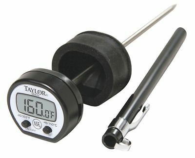 Taylor Digital Pocket Thermometer, LCD, 4-3/4In L - 9840RB