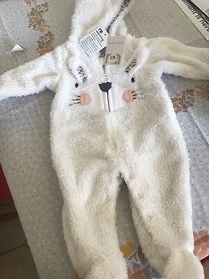 Upto 1 Month All In One Suit Mothercare Brand New With Tags