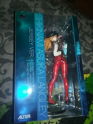 Alter Evangelion Asuka Langley Jersey Version 1/7 Scale Figure NEW IN BOX
