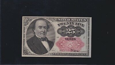US 25c Fractional Currency 5th Issue Pos 42 J FR 1309 Ch CU