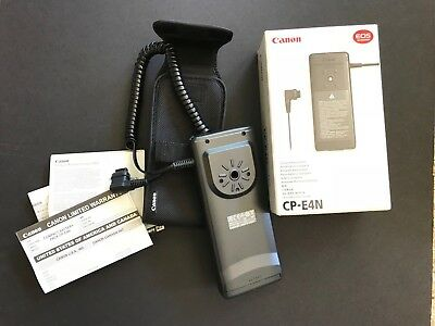 Canon Compact Battery Pack CP-E4N - NEW w/ box, soft case, warranty