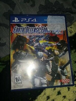 Earth Defense Force 4.1 The Shadow of New Despair PS4 Game
