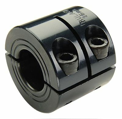 Ruland Manufacturing Black Oxide 1215 Lead Free Steel Shaft Collar, Clamp Collar