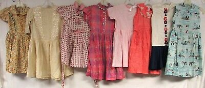Lot of 50+ Vintage Youth Size Girls Boys Clothing 50s 60s Dresses Pants Tops