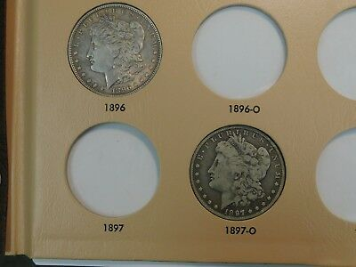 Morgan & Peace Silver Dollar Collection in Dansco Album