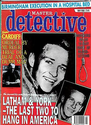 Master Detective Issued May 1993, 50 Pages Soft Back Edition,