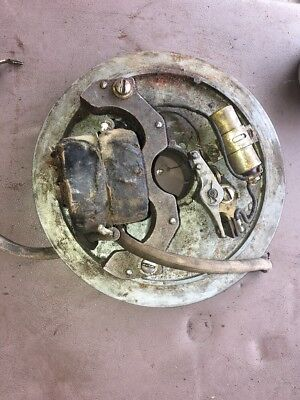 maytag Motor Engine model 72 Twin backing plate and coil