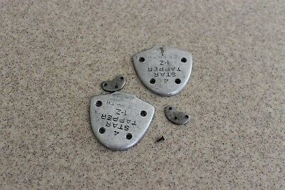Taps for high-healed tap shoes, E. B. Smith 4 Star Tapper, Z-1 size, used