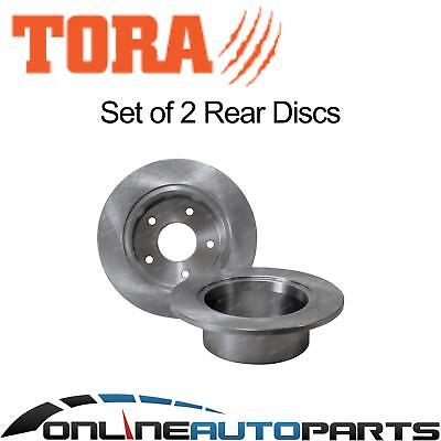 2 Rear Disc Brake Rotors suit suits Toyota Lexcen VN VP VR VS 1991-1997 non IRS