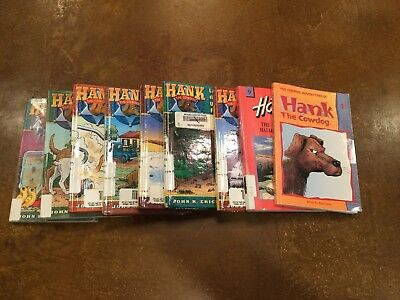 Lot Of 10 Vintage Hank The Cowdog Books