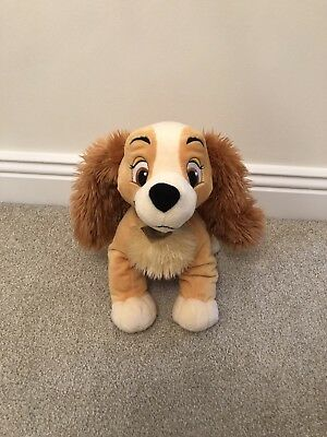 Disney Store Lady Soft Toy - Lady And The Tramp
