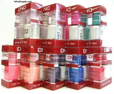 Daisy DND Duo Gel Polish MATCHING Nail Polish Set (#400 - #599)  PART 1