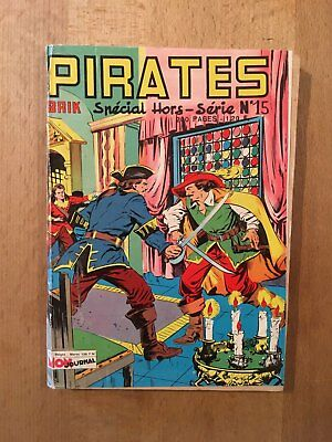 PIRATES n°15 – Editions Aventures et Voyages – Mars 1964 – TBE