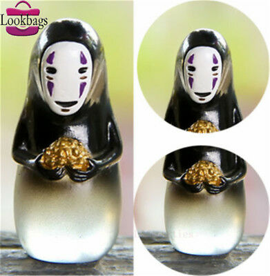 Anime Studio Ghibli Spirited Away Vinyl Figure Miyazaki Hayao No Face Man Toy