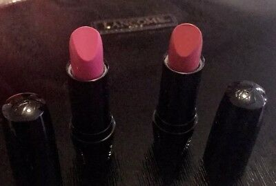Lot Of 2 Lancome Color Design Lipcolor 357 Wannabe 340 All Done Up